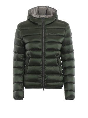 Colmar Originals: giacche imbottite - Piumino corto verdone Place con cappuccio