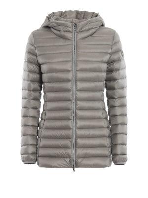 Colmar Originals: giacche imbottite - Piumino con cappuccio in nylon Place grigio
