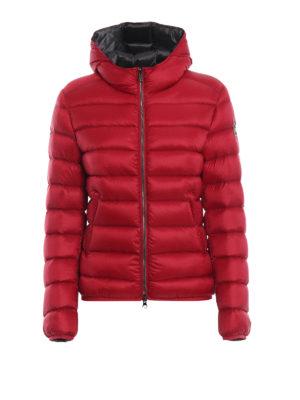 Colmar Originals: giacche imbottite - Piumino corto rosso con cappuccio