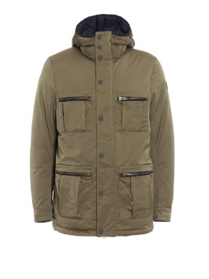 Colmar Originals: padded jackets - System padded hooded field jacket