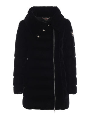 Colmar Originals: giacche imbottite - Giacca imbottita in velluto tecno