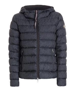 Colmar Originals: padded jackets - Wrinkled blue puffer jacket