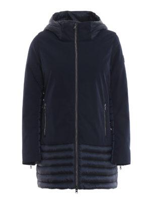 Colmar Originals: cappotti corti - Cappotto Biker in nylon opaco e trapuntato