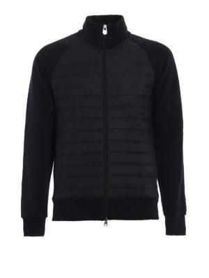 Colmar Originals: Sweatshirts & Sweaters - Nylon and cotton zipped sweatshirt