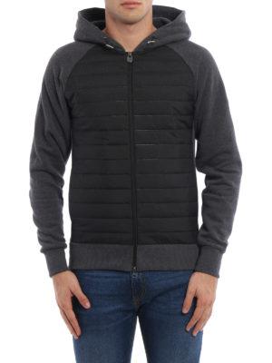 Colmar Originals: Sweatshirts & Sweaters online - Quilted panelled hoodie