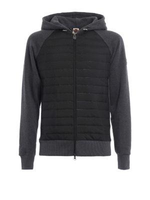 Colmar Originals: Sweatshirts & Sweaters - Quilted panelled hoodie