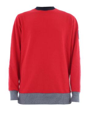 Colmar Originals: Felpe e maglie - Felpa rossa con bordi a costine