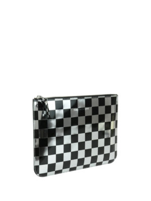 Comme Des Garcons: Cases & Covers online - Optical check patent pouch