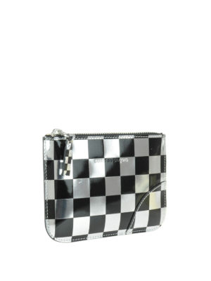 Comme Des Garcons: Cases & Covers online - Optical check patent small pouch