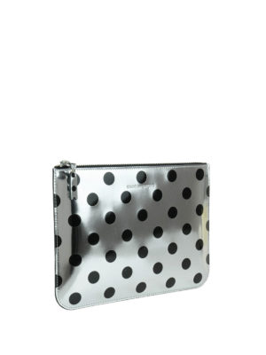 Comme Des Garcons: Cases & Covers online - Polka dot patent pouch