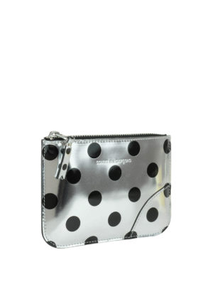 Comme Des Garcons: Cases & Covers online - Polka dot patent small pouch