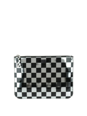 Comme Des Garcons: Cases & Covers - Optical check patent pouch