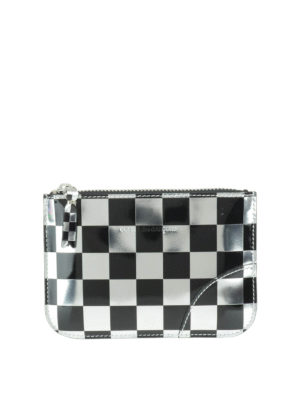 Comme Des Garcons: Cases & Covers - Optical check patent small pouch