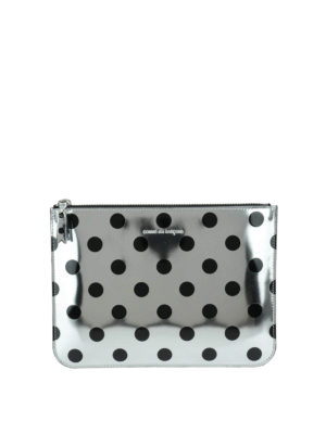 Comme Des Garcons: Cases & Covers - Polka dot patent pouch