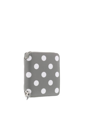 Comme Des Garcons: wallets & purses online - Polka Dot printed zip wallet