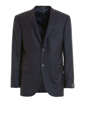 Corneliani: blazers - Wool classic single-breasted blazer