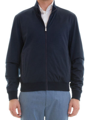 Corneliani: casual jackets online - Virgin wool casual jacket
