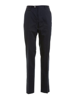 Corneliani: casual trousers - Zipped pockets cotton trousers