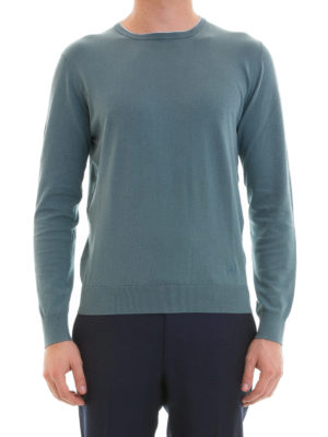 Corneliani: crew necks online - Virgin wool lightweight crewneck