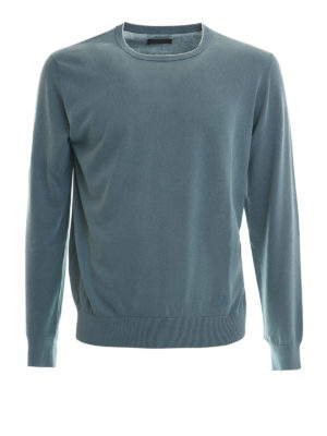 Corneliani: crew necks - Virgin wool lightweight crewneck