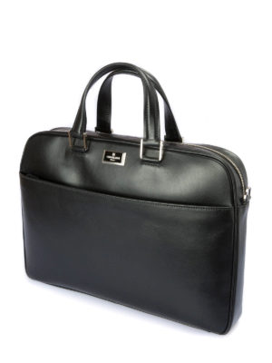Corneliani: laptop bags & briefcases online - Leather big bag