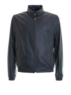 CORNELIANI: giacche in pelle - Giubbotto in nappa reversibile