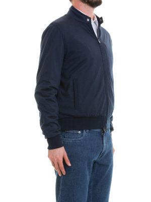 CORNELIANI: giacche bomber online - Giubbotto sportivo in lana ritorta