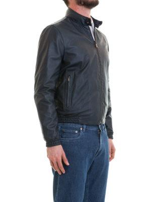 CORNELIANI: giacche in pelle online - Giubbotto in nappa reversibile