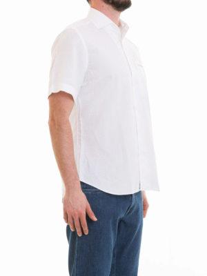 CORNELIANI: camicie online - Camicia bianca a maniche corte
