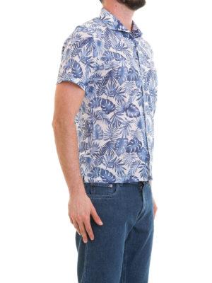 CORNELIANI: camicie online - Camicia fantasia a maniche corte