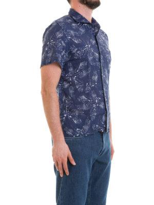CORNELIANI: camicie online - Camicia in lino stampato