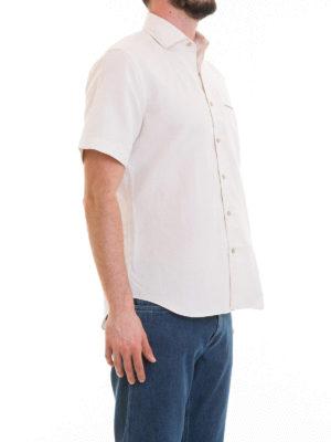 CORNELIANI: camicie online - Camicia in cotone e lino
