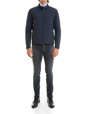 Corneliani: padded jackets online - Water and wind proof down jacket