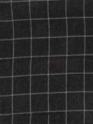 CORNELIANI: scarves - Checked silk cashmere blend scarf