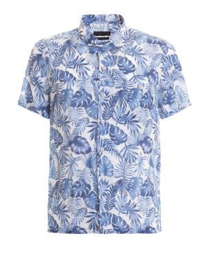 CORNELIANI: camicie - Camicia fantasia a maniche corte