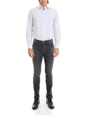 Corneliani: shirts online - Classic striped cotton shirt