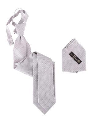 Corneliani: ties & bow ties - Silk tie and pocket square