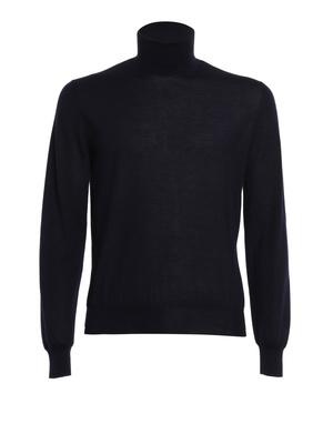 Corneliani: Turtlenecks & Polo necks - Cashmere and silk pullover