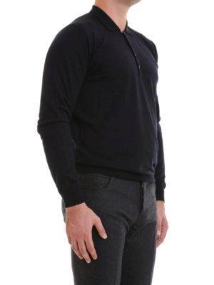 Corneliani: Turtlenecks & Polo necks online - Fine knitted wool polo neck sweater