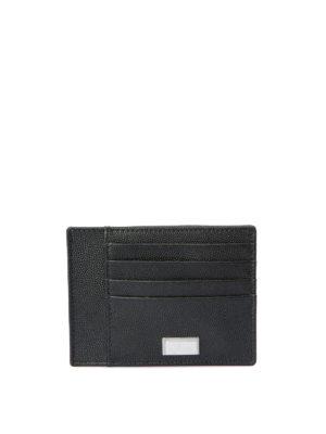 Corneliani: wallets & purses - Leather card holder