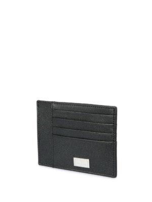 Corneliani: wallets & purses online - Leather card holder