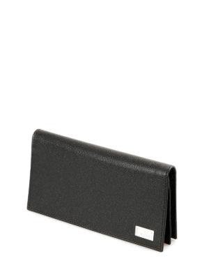 Corneliani: wallets & purses online - Textured leather wallet