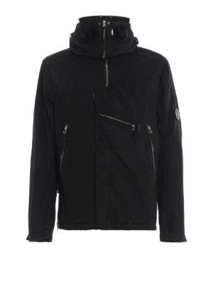 CP COMPANY: giacche casual - Giaccone Goggle 50 Fili tecnico nero