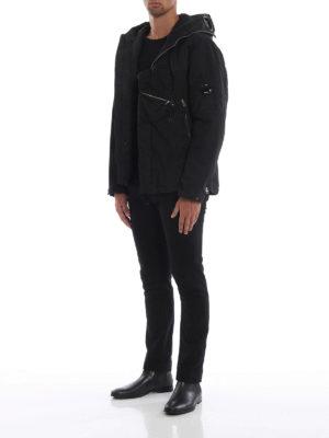 CP COMPANY: giacche casual online - Giaccone Goggle 50 Fili tecnico nero