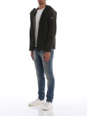 CP COMPANY: giacche casual online - Giacca Lens Pro-Tek verde scuro con cappuccio