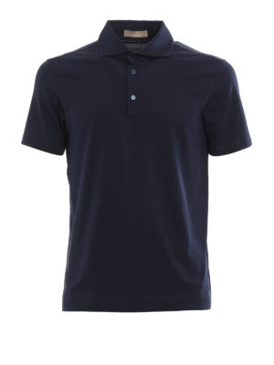Cruciani: polo shirts - Cotton jersey polo shirt