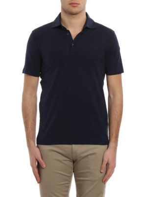 Cruciani: polo shirts online - Cotton jersey polo shirt