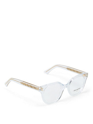 47dd6d3f9c8d CUTLER AND GROSS  Occhiali - Occhiali da vista tondi montatura trasparente.  New season. Cutler And Gross. Sheer acetate frame rounded lenses glasses