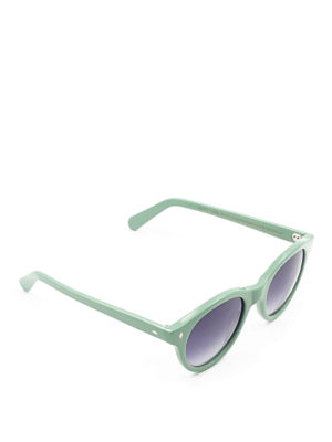 Cutler And Gross: sunglasses - Acetate rounded sunglasses