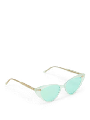 c3b4b724fa0 CUTLER AND GROSS  occhiali da sole - Occhiali trasparenti cat-eye super  trendy
